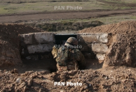 ВС Азербайджана произвели более 1150 выстрелов в направлении армянских позиций НКР