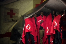 Spain coast guard rescues 257 migrants trying to cross Mediterranean