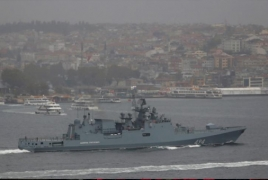 Source: Russian frigate leaves for Mediterranean on Syria mission