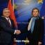Armenia's Sargsyan briefs Mogherini on Baku's destructive policy