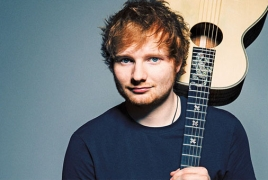 """Ed Sheeran's """"÷"""" tipped to be UK's best-selling album of 2017"""
