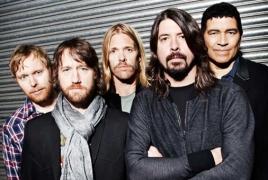 Foo Fighters talk progress on new album, Glastonbury 2017