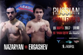 Armenian athlete to participate in Russian Challenge 3 Muay Thai event