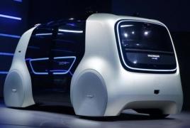 Volkswagen представил прототип своего первого полностью беспилотного автомобиля