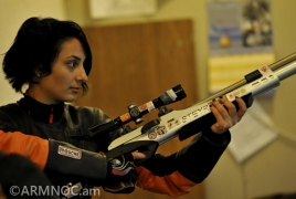 Armenian shooter claims second spot at European Championships