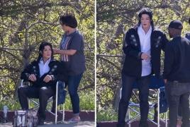"Michael Jackson bio ""Searching For Neverland"" unveils set pics"