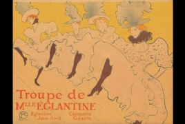 """The Paris of Toulouse-Lautrec"" exhibit on view at the Chrysler Museum"