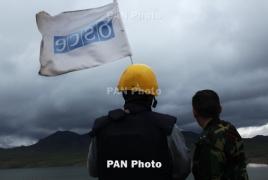 OSCE  to conduct monitoring of Artsakh-Azerbaijan contact line