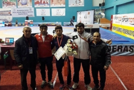 Тренер сборной Армении по вольной борьбе: В Турции могли завоевать больше медалей