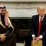 Saudis praise Trump for 'turning point' after meeting with Prince