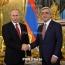 Путин: Россия продолжает содействовать урегулированию карабахского конфликта