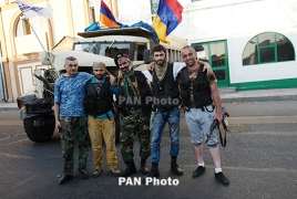 "Sasna Tsrer hail ORO supporters' ""rebellion"" against Armenia police"