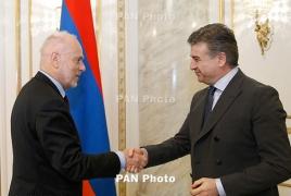 Armenia PM, ODIHR mission chief talk election preparations