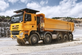 Tatra trucks manufactured in Armenia to be sold to Iran