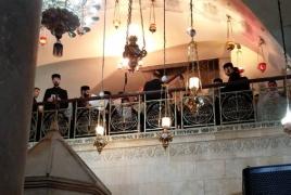 На открытии отреставрированной часовни в Иерусалиме прозвучала армянская музыка
