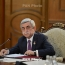Armenia president: Terrorism cannot be foreseen