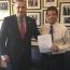 Armenian envoy, U.S. Congressmen talk Genocide recognition