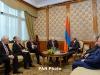 Серж Саргсян обсудил мирное урегулирование карабахского конфликта с сопредседателями МГ ОБСЕ