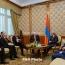 Karabakh conflict: Armenia president, OSCE envoys meet in Yerevan