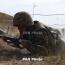 Azerbaijan uses sniper rifles in ceasefire violations overnight