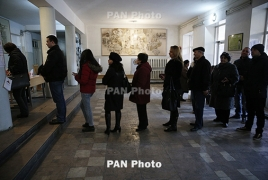 Armenia parliamentary elections: Livestream
