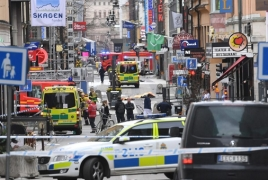 Sweden arrests man for 'terrorist crime' after Stockholm truck attack