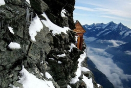 Solvey Hut, shelter for mountaineers