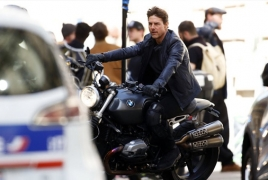 "Tom Cruise performs thrilling stunts in ""MI 6"" set vids & pics"
