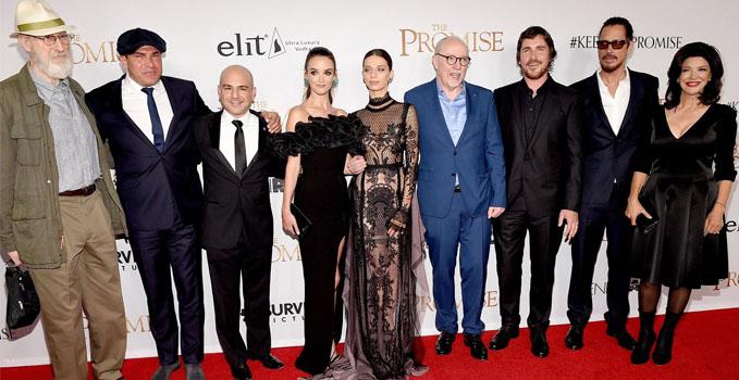 Ким Кардашьян на премьере фильма «Обещание»: Приходите и узнаете настоящую историю армянского народа