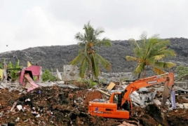 Sri Lanka rubbish dump landslide death toll rises to 16
