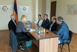 YELQ opposition bloc, EU envoy discuss Armenian, Yerevan elections