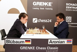 Levon Aronian takes the lead after Grenke Chess Classic Round 4