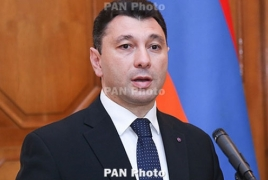 Armenia parliament to have two ruling parties, RPA says