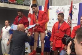 Սամբոյի Եվրոպայի առաջնության 2 օրում ՀՀ մարզիկները 12 մեդալ են նվաճել