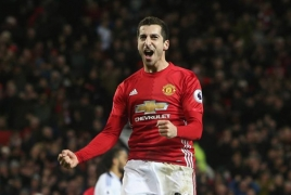 Henrikh  Mkhitaryan: MU one step closer to the Europa League final