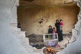 В боях за Ракку спасли 140 курдов-езидов