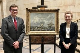Simon de Vlieger's work, stolen by Nazis returned to Poland