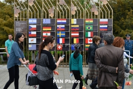 Yerevan Municipality installations commemorate Armenian Genocide