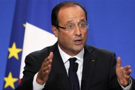 Hollande calls to reject Le Pen in presidential run-off vote
