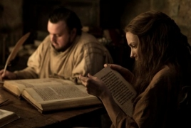 Отрывок из новой книги Мартина попал в кадр 7-го сезона «Игры престолов»