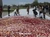 В мемориальном комплексе памяти жертв Геноцида прошел традиционный сбор цветов