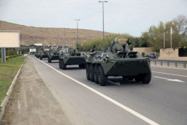Russia ships BTR-82A armored personnel carriers to Azerbaijan
