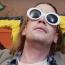 Macaulay Culkin as Kurt Cobain in Father John Misty's music vid