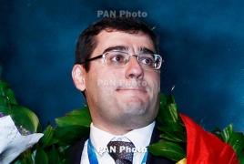 Сергей Мовсесян взял бронзу  турнира Reykjavik Open
