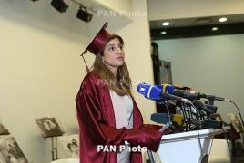 Принцесса Иордании  Дина Майред стала почетным доктором Ереванского медуниверситета