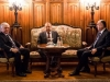 Armenian, Russian, Azeri foreign ministers talk Karabakh in Moscow
