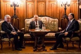 Главы МИД Армении и Азербайджана в Москве договорились продолжить контакты