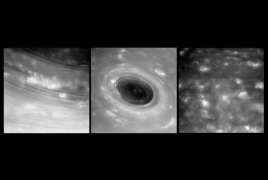 Cassini probe survives 1st dive between Saturn and its rings