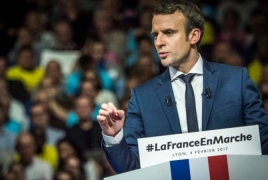 French Armenians to support Macron at presidential elections