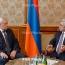 Полтавченко почтил память жертв Геноцида армян в Цицернакаберде